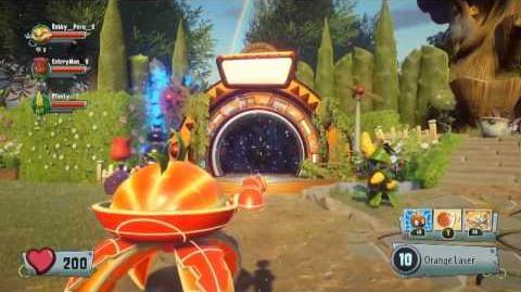 Conférence Plants vs. Zombies Garden Warfare 2 - Gamescom 2015