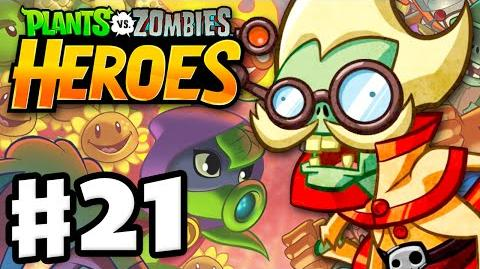 Plants vs. Zombies- Heroes - Gameplay Walkthrough Part 21 - Professor Brainstorm! (iOS, Android)