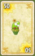Spring Bean Costume Card