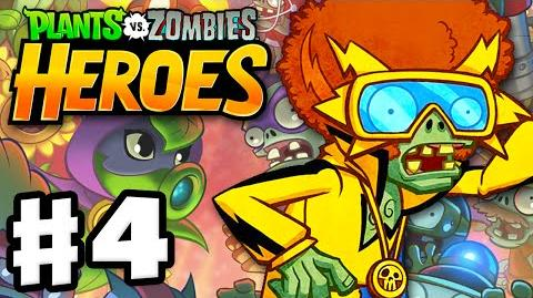 Plants vs. Zombies- Heroes - Gameplay Walkthrough Part 4 - Electric Boogaloo Hero! (iOS, Android)