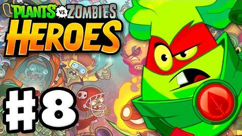 Plants vs. Zombies- Heroes - Gameplay Walkthrough Part 8 - Grass Knuckles! (iOS, Android)