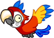 1Зомби-попугай