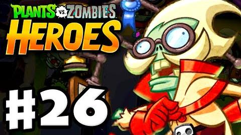 Plants vs. Zombies- Heroes - Gameplay Walkthrough Part 26 - A Fun-Dead Education! (iOS, Android)