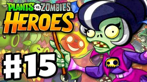 Plants vs. Zombies- Heroes - Gameplay Walkthrough Part 15 - Immorticia! (iOS, Android)