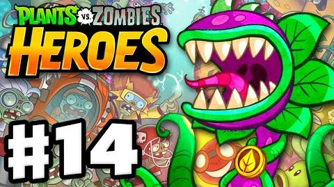 Plants vs. Zombies- Heroes - Gameplay Walkthrough Part 14 - Chompzilla! (iOS, Android)