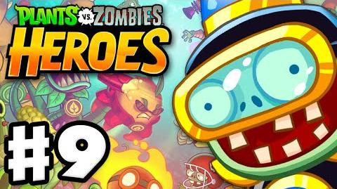 Plants vs. Zombies- Heroes - Gameplay Walkthrough Part 9 - Impfinity! (iOS, Android)