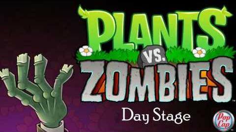 Plants vs Zombies Soundtrack. -Day Stage-