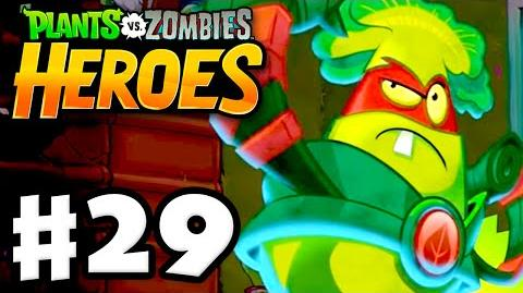 Plants vs. Zombies- Heroes - Gameplay Walkthrough Part 29 - Foe with Furious Fists! (iOS, Android)