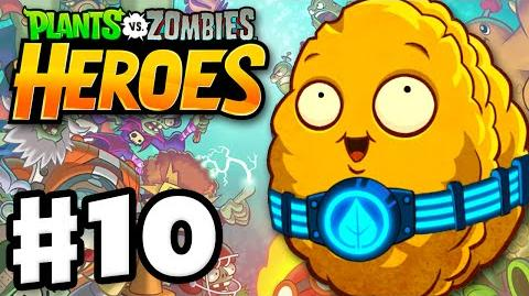 Plants vs. Zombies- Heroes - Gameplay Walkthrough Part 10 - Wall-Knight! (iOS, Android)