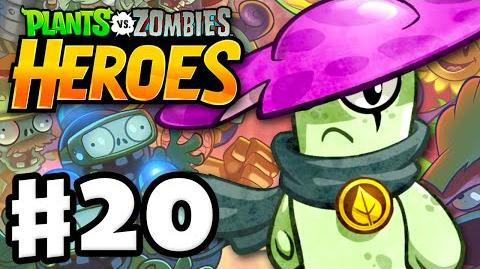 Plants vs. Zombies- Heroes - Gameplay Walkthrough Part 20 - Night Cap! (iOS, Android)