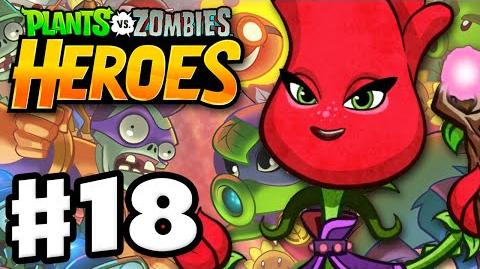 Plants vs. Zombies- Heroes - Gameplay Walkthrough Part 18 - Rose! (iOS, Android)