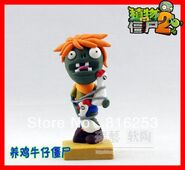 Free-Shipping-New-Arrvial-Plants-vs-zombies-2-It-is-about-time-Chicken-Wrangler-Zombie-action