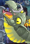 Zombot Dark Dragon Fireball Attack