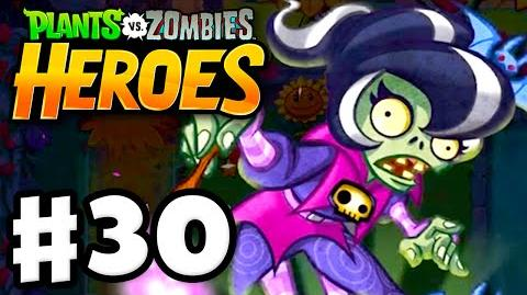 Plants vs. Zombies- Heroes - Gameplay Walkthrough Part 30 - Haunting at Morbid Manor! (iOS, Android)