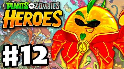 Plants vs. Zombies- Heroes - Gameplay Walkthrough Part 12 - Citron! (iOS, Android)