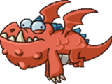 Baby Dragon Zombie