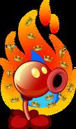Fire Pea Costume