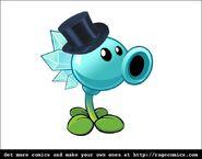 Top Hat Snow Pea