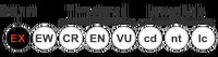 Status iucn2.3 EX