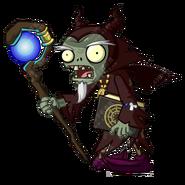 HD Dark Wizard Zombie