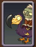 Dodo Rider Zombie's Almanc Icon.