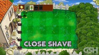 Plants vs. Zombies Close Shave Achievement