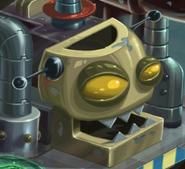 Head zombot