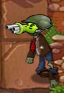 Pea Zombie Gatling