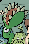 PvZO Venus Flytrap in a comic