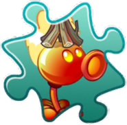 Fire Peashooter Costume Puzzle Piece