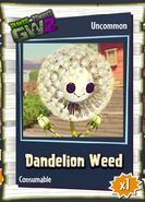 Dandelion Sticker