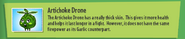 Artichoke Drone GW2 Description