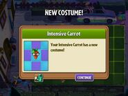 Getting Intensive Carrot's Second Costume