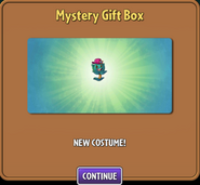 Thyme warp costume from Mystery Gift box