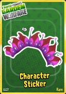 Sticker Alien Flower2