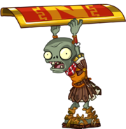 Zombie roman top shield