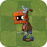 Brick Head Zombie