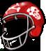 Zombie football helmet