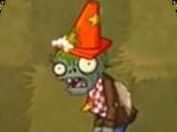 Зомби с конусом