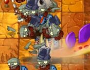 Killing Zombie Stegosaur