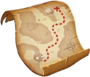 Lost City Treasure Map