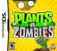 Plants vs zombies ds box