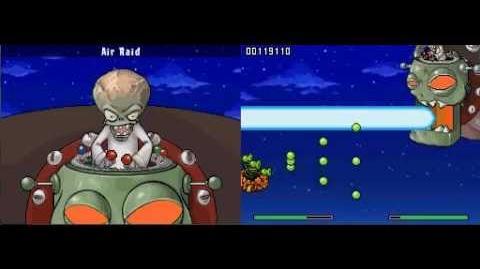 Plants vs Zombies DS Air Raid