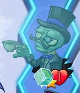 Frozen Gentleman Zombie