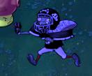 Giga-Football Zombie Frozen