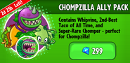 Chompzilla Ally Pack Promotion