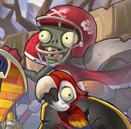 PVZOL Football Zombie