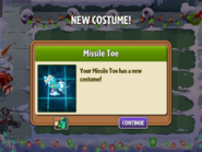 Getting Missile Toe Second Costume