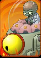 Zombot Tomorrow-tron in Volcano Level Icon