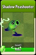 Shadow Peashooter Level Up